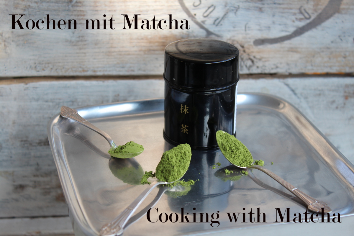 Cooking with Matcha, the power of the green powder