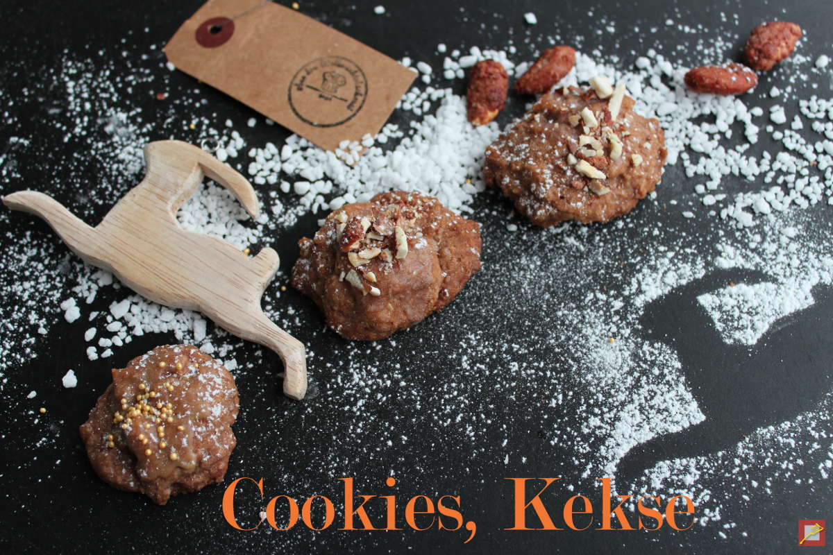 Delicious & easy – chocolate nut cookies, cappuccino kisses, lemon bites