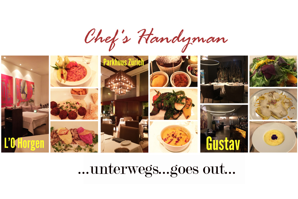 Chef's Handyman goes out!