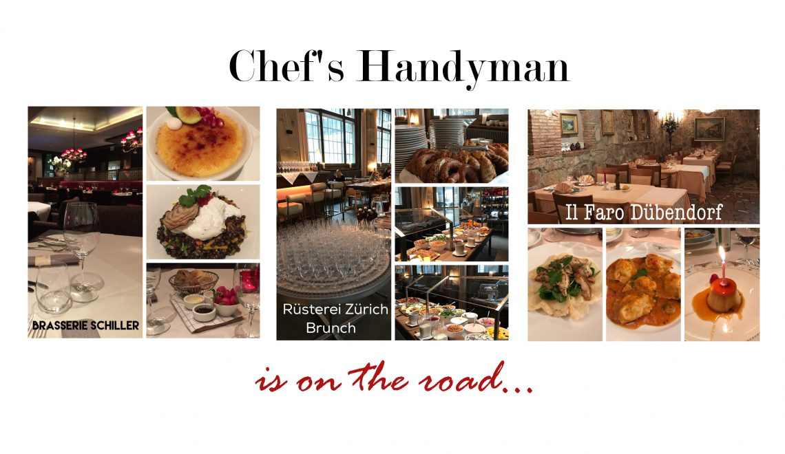 Chef's Handyman is on the road.