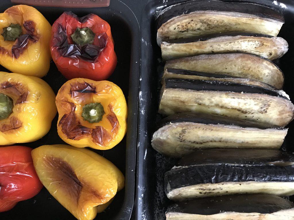 Chef's Handyman, eggplant snack