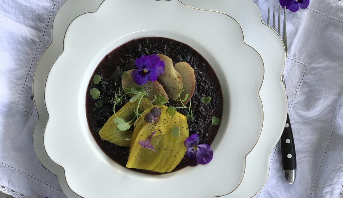 Venere rice, dining as an emperor