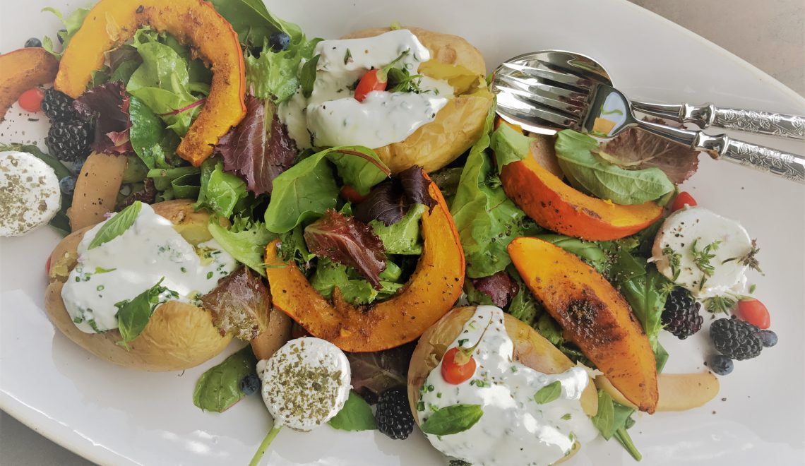 Fall platter – peatiness with the colors of vitality