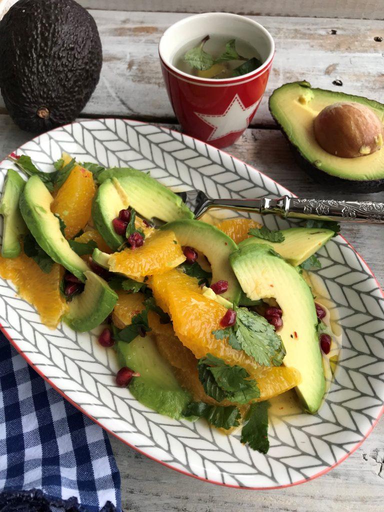 Avocado Orange Salad