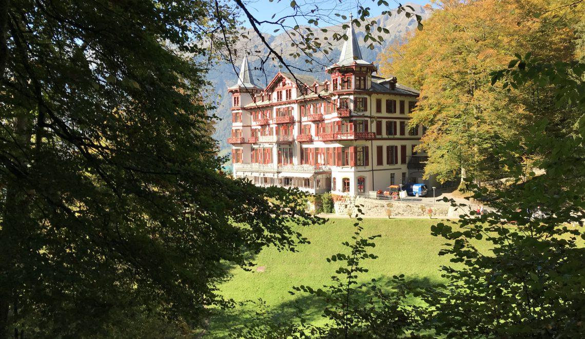 Chef's Handyman, Giessbachfälle, Hotel Giessbach