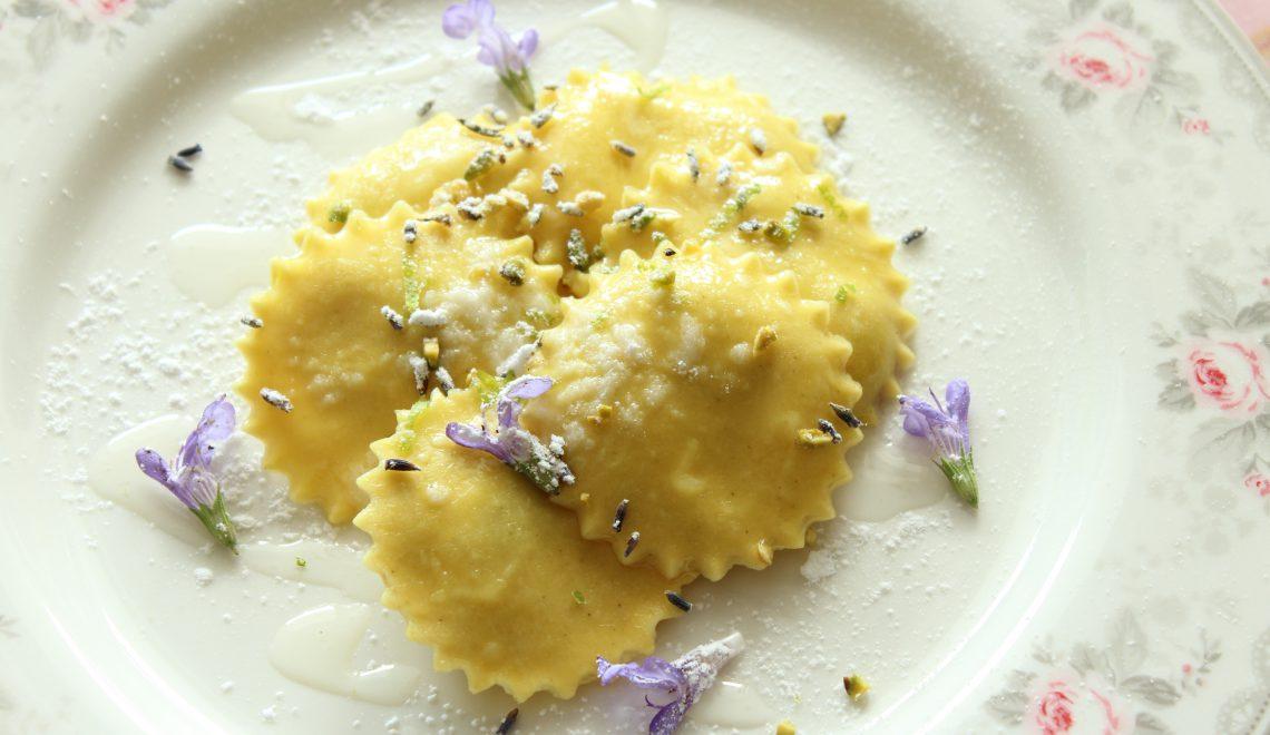 Sweet Ravioli with Lavender