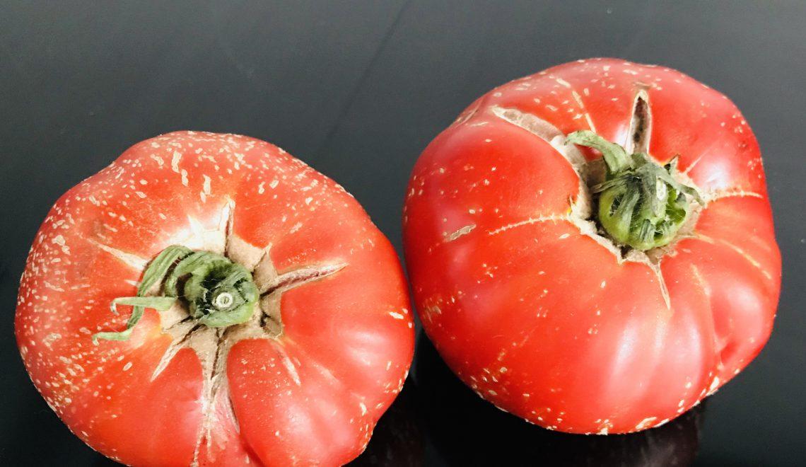 Tomatensalat mit Melone