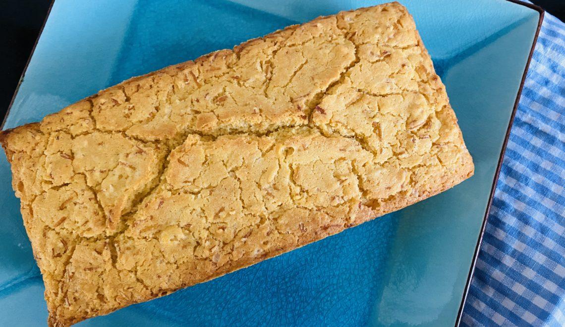 Corn-Rice Bread with Twist