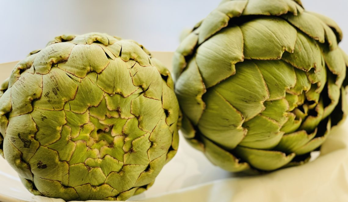 Artichokes tough and tender