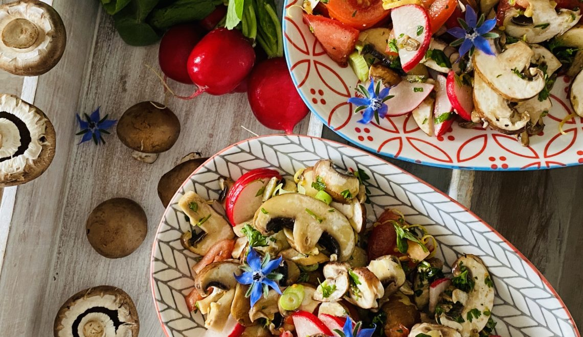 Chef's Tip Mushroom Salad